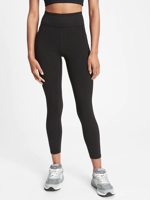 Kadın siyah GapFit Basic Legging Tayt