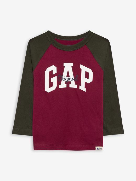 Erkek Bebek Kırmızı Gap Logo T-Shirt