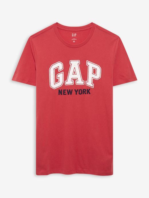 Erkek Pembe Gap Logo T-Shirt