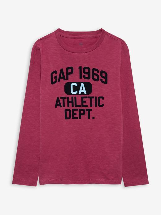 Erkek Çocuk Pembe Gap Logo T-Shirt