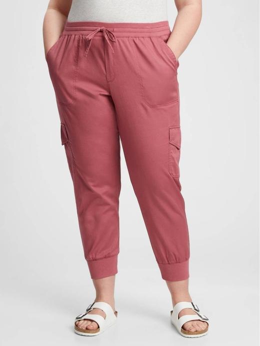 Kadın Pembe Kargo  Washwell™ Jogger Pantolon