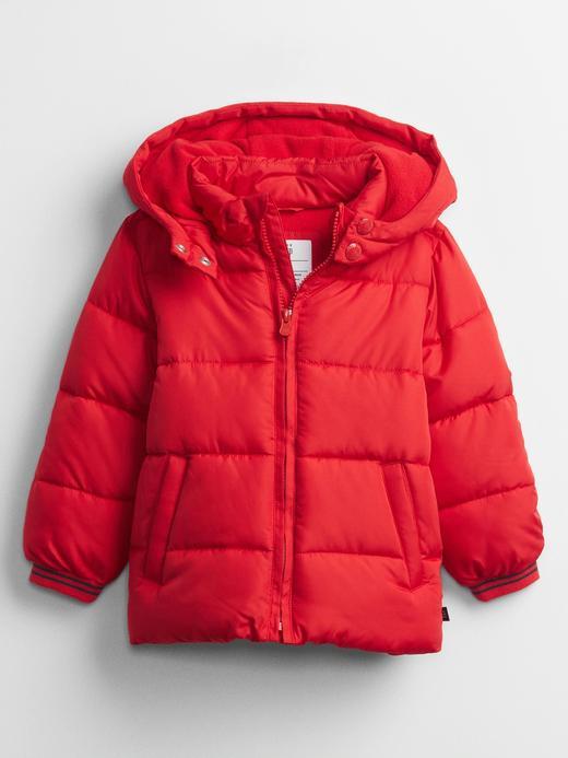 Erkek Bebek Kırmızı ColdControl Maxi Puffer Şişme Mont