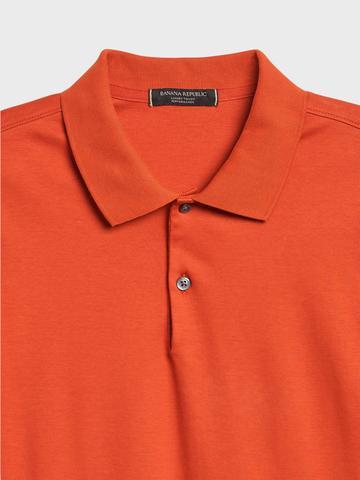 Erkek Pembe Luxury Touch Performance Polo T-Shirt