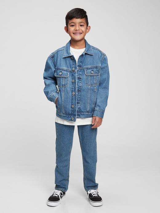 Erkek Çocuk Mavi Gen Good Denim Ceket
