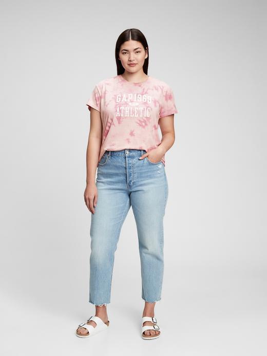 Kadın Pembe Gap Logo T-Shirt