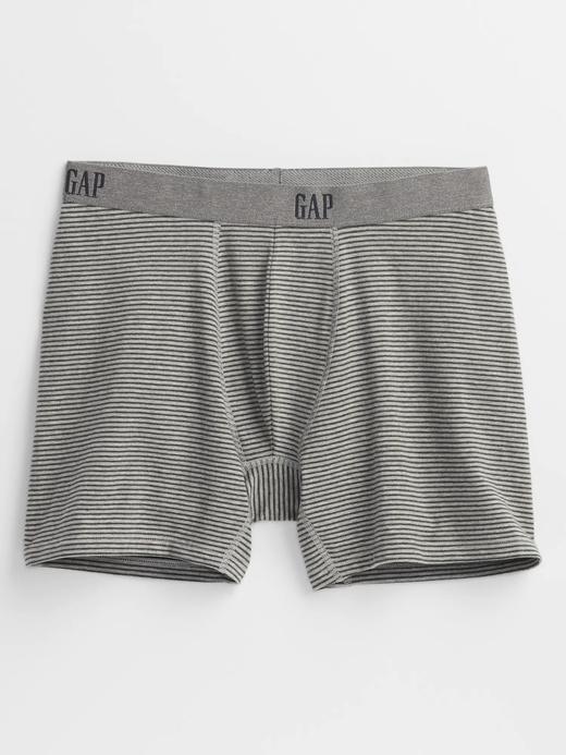 Erkek gri Gap Logo Baskılı Boxer Külot