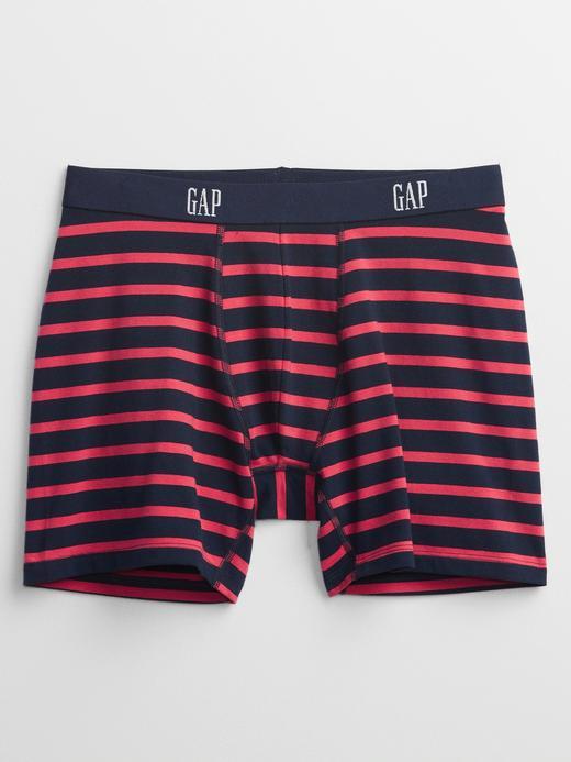 Erkek kirmizi Gap Logo Baskılı Boxer Külot