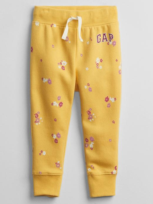 Kız Bebek Sarı Gap Logo Pull On Eşofman Altı