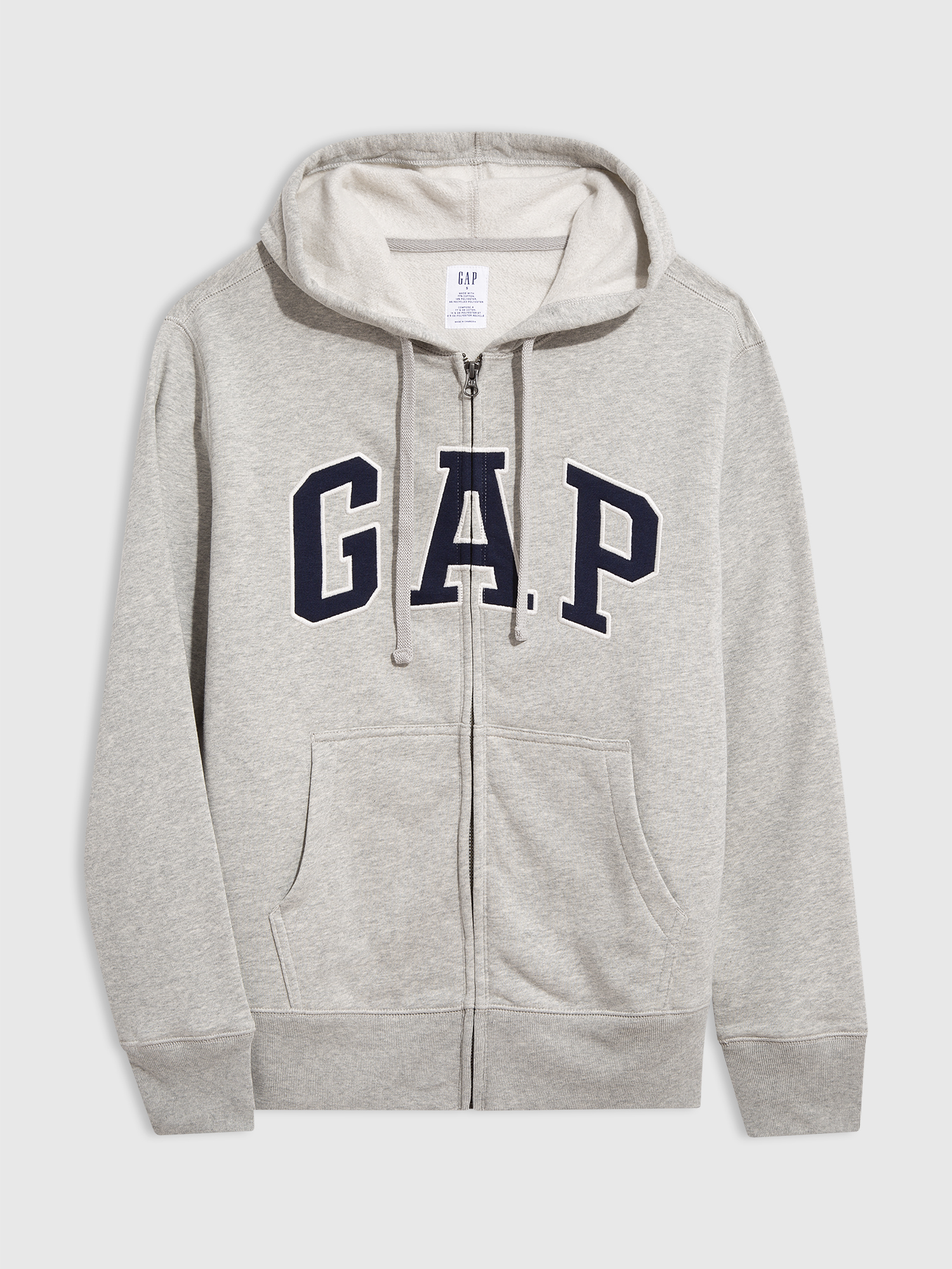 GAP açık gri Gap Logo Kapüşonlu Sweatshirt